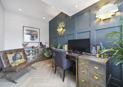 LeightonW10_panelling_study_flooring_refurbish_2021